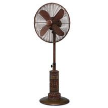"Terra 18"" Oscillating Floor Fan by DecoBreeze DBF5435 - $279.99"