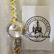 Disney Vintage Mickey silver and gold ladies watch- NWT - $123.74
