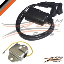Regulator Rectifier & Ignition Coil Fits Yamaha Banshee 350 YFZ350 3LC-82310-01- - $29.65
