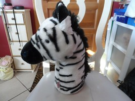 "Zebra Golf Club Cover By Daphne 14"" - $26.00"