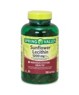 Spring Valley, Sunflower Lecithin Softgels, 1200 mg, 120 Count..+ - $19.99