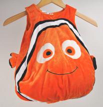 Disney Store FINDING NEMO Plush HALLOWEEN Costume *NO HAT* Clown FISH Sz... - $29.65