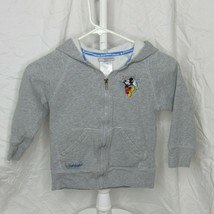 Disneyland Resort Park Sweatshirt Child Size Small Gray Embroidered Back - $17.59