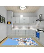 3D Flowers Bird 1 Kitchen Mat Floor Murals Wall Print Wall Deco AJ WALLP... - $49.84+