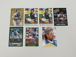 Mike Piazza Baseball Cards Lot of 7 1992 Classic 1993 Fleer Ultra 1993 Pinnacle - $13.54