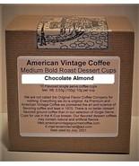 Chocolate Almond flavored Dessert Coffee 10 Medium Bold Roasted K-Cups - $9.21