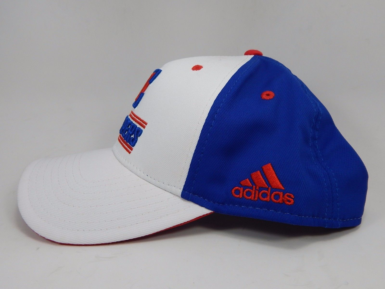 Los Angeles LA Clippers Adidas Official NBA Snap Back Curve Brim Cap Hat NEW!