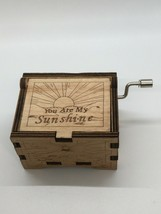 You Are My Sunshine Wooden Music Box - $24.74
