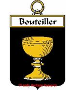 BOUTEILLER French Coat of Arms Print BOUTEILLER... - $25.00