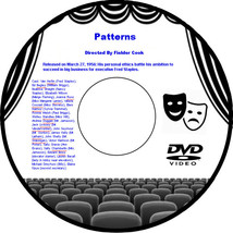 Patterns 1956 DVD Movie  Van Heflin Ed Begley Beatrice Straight Elizabet... - $3.99