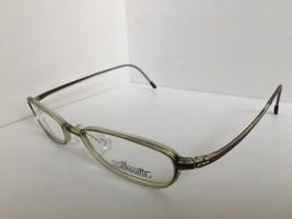 New Super Light Vintage Silhouette SPX 1990 10 6064 49mm Clear Green Eye... - $64.99