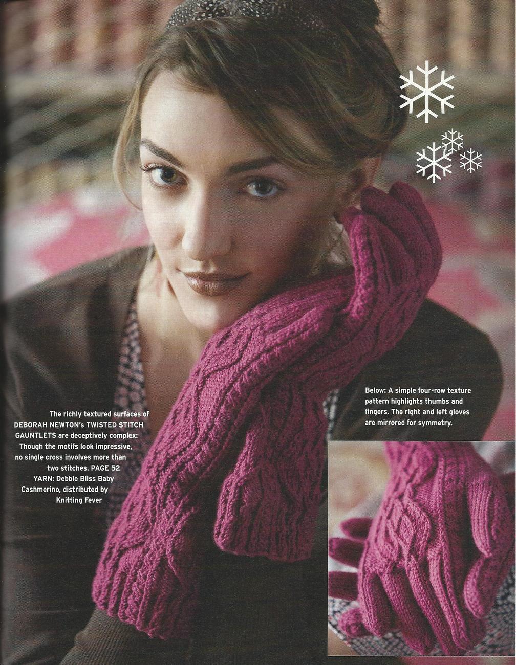 Interweave Knits Holiday Gifts Magazine ~2007~Needle Felting, Ski Sweaters +