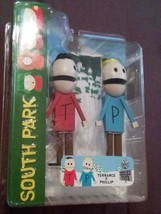 New in Box South Park TERRANCE & PHILLIP Action Figure Series 4 FOUR Mez... - $89.99