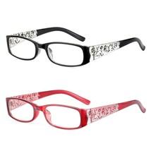 Reading Glasses Square Frame Elegant Eyeglasses 1.0 1.5 2.0 2.5 3.0 3.5 ... - $5.44