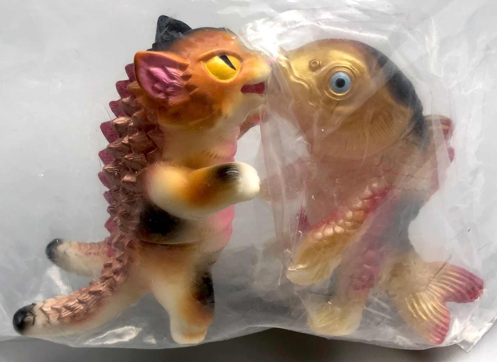 Max Toy Negora and TakePico Fish Mint in Bag