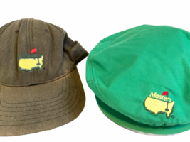 Lot 2 Vintage Masters Golf Tournament Cap Hat Augusta National USA Made image 2