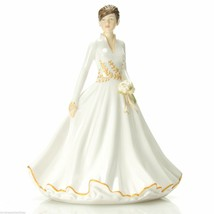 "Royal Doulton Winter Wonderland 7"" Bone China Figurine NEW SIGNED BY M D... - $74.24"