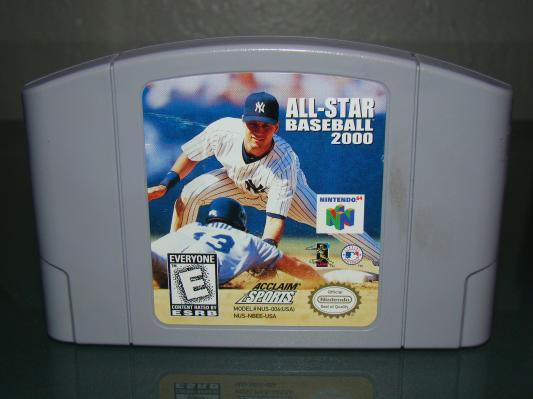 Nintendo 64 - ALL STAR BASEBALL 2000