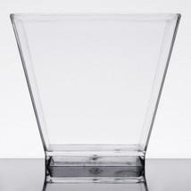 NEW Choice 2 oz. Clear Square Plastic Disposable Shot Glasses - 320/Case - $25.73