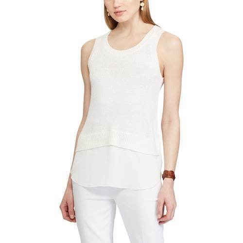 2fc281cea9 Women's Chaps Layered Sleeveless Sweater size xl nwt - $15.36