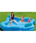 Intex Relax Cool Swim Center Family Lounge Inflatable Pool Yard Camping - $139.99