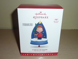Hallmark 2016 Ornament New in Box ~ A Sign of the Season ~ The Peanuts Gang - $27.72