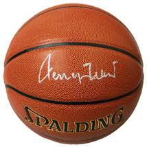 Jerry West Signed Spalding NBA Indoor/Outdoor Basketball - $250.00