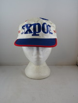 Montreal Expos Hat (VTG) - All Over Print by Ted Fletcher - Adult Elastic Back - $55.00