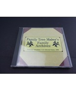 Family Tree Maker Veterans' Schedules: U.S. Selected States: 1890 PC CD ... - $11.75