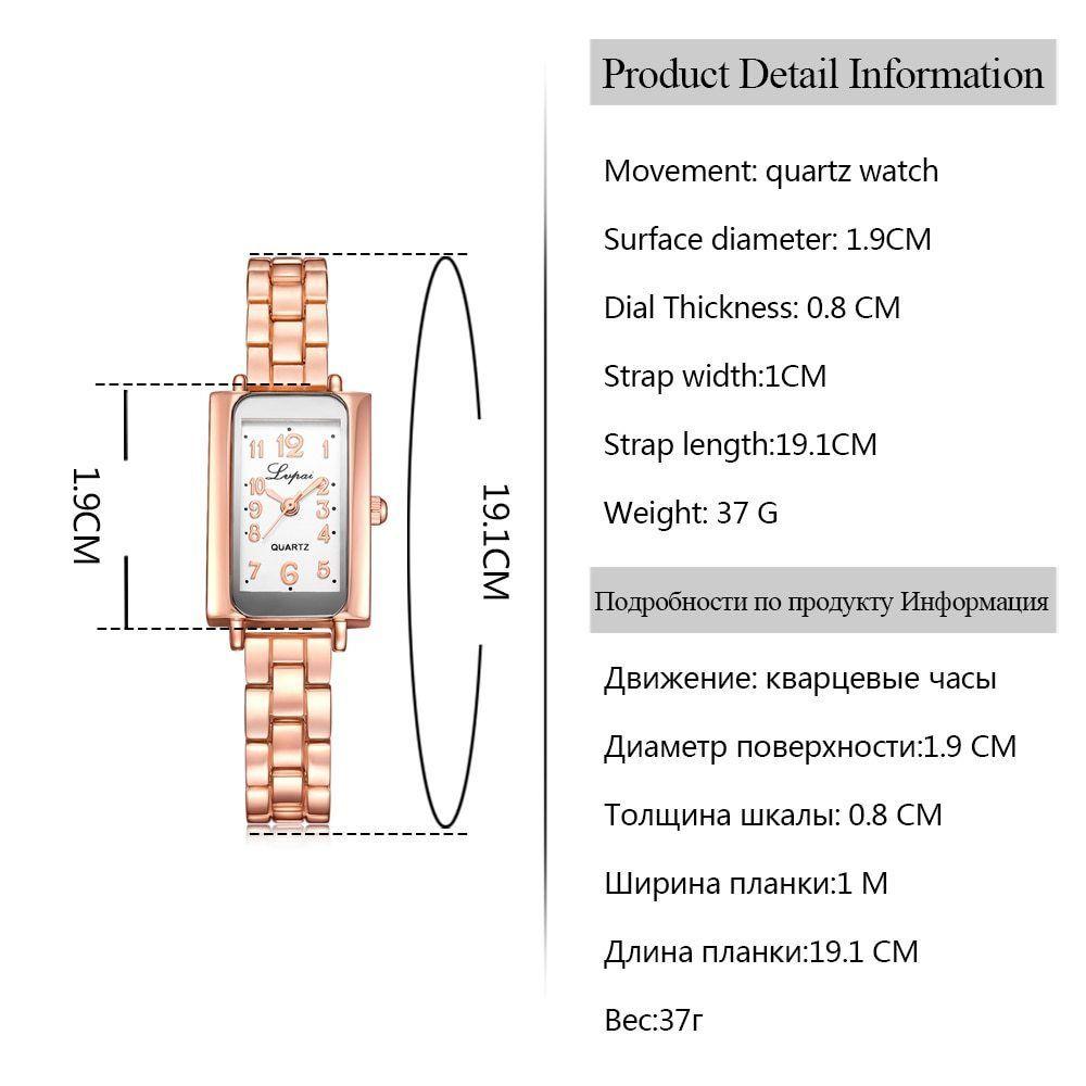 Lvpai® Women Bracelet Watch Luxury Quartz Creative Ladies Steel Dress Wristwatch