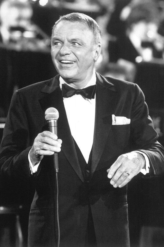 Primary image for Frank Sinatra 1980's in concert 18x24 Poster
