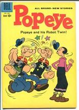 Popeye #56-1960-Dell-Robot Twin-FN - $49.66