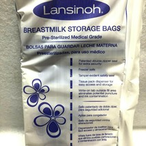 Lansinoh Breastmilk Storage Bags 1 Pack of 25 Count Brand New - $6.42