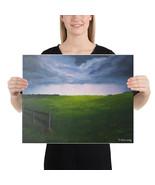 """Canvas Print """"Prairie Storm"""" - $60.95+"""
