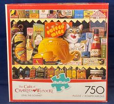 Cats of Charles Wysocki puzzle Ethel the Gourmet 750 piece Buffalo - $10.00