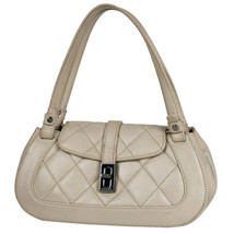 Auth CHANEL Hand Bag Light Beige Matelasse Vintage Flap Pouch Solid B4268 - $1,420.65