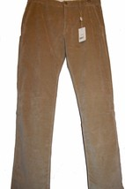 Armani Collezioni Men's Beige Casual Cotton Velvet Pants Size US 38 EU 54 - $148.49