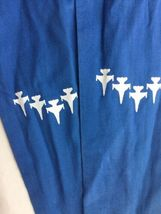 Blue AIR FORCE SQUADRON PILOT SCARF USAF 62nd FIGHTER SPIKE image 4