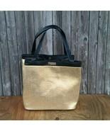 Versace Parfums Gold Black Trim Tote Bag - $40.00