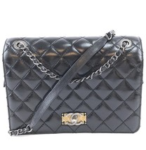 #31321 Chanel Classic Flap Distressed Quilted Calfskin Leather Cross Bod... - $3,000.00