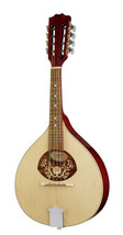 Portuguese Mandolin I with EQ, Solid Wood, Made by Hora, Romania - $219.97