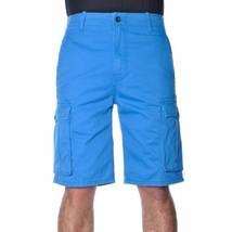 NEW LEVI'S MEN PREMIUM COTTON ORIGINAL RELAXED FIT CARGO SHORTS BLUE 124630175