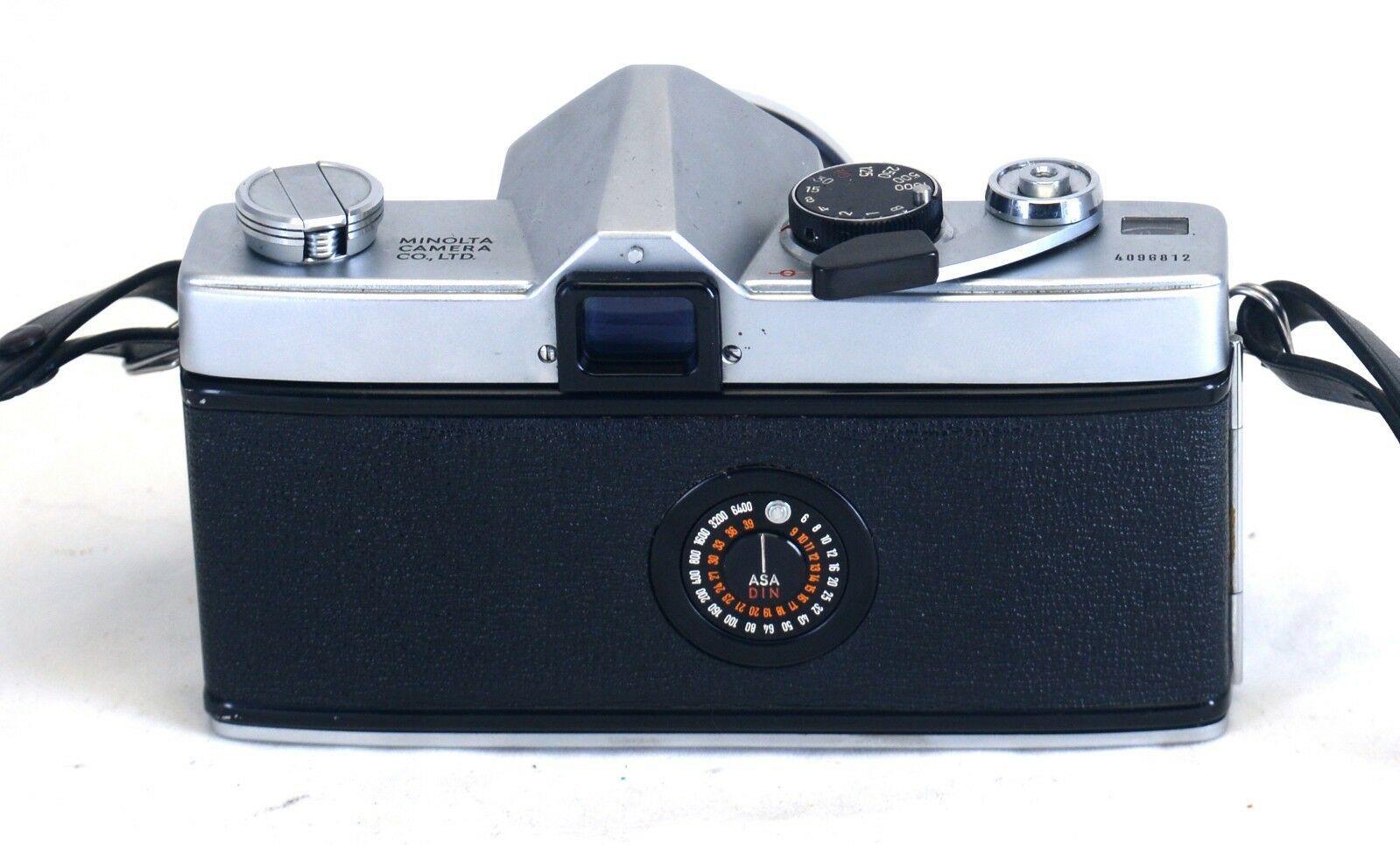 MINOLTA SR-1s VINTAGE 35mm Film SLR Camera ROKKOR-PF f/1.8 55mm Lens JAPAN