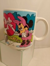"Vintage Mug Disney Mickey Minnie Pluto ""All My Love is for You!"" Applause 30124 - $17.75"