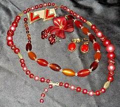 Jewelry (Pink Tone) AA20-JW5014 Vintage