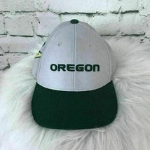 Oregon Ducks Boys Youth Sz Hat Gray Adjustable Basic Baseball Cap - $9.89