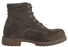 Timberland 6 Inch Basic Men's Boots Nubuck Brown Leather Shoes RRP £160 - 37580 - $158.48