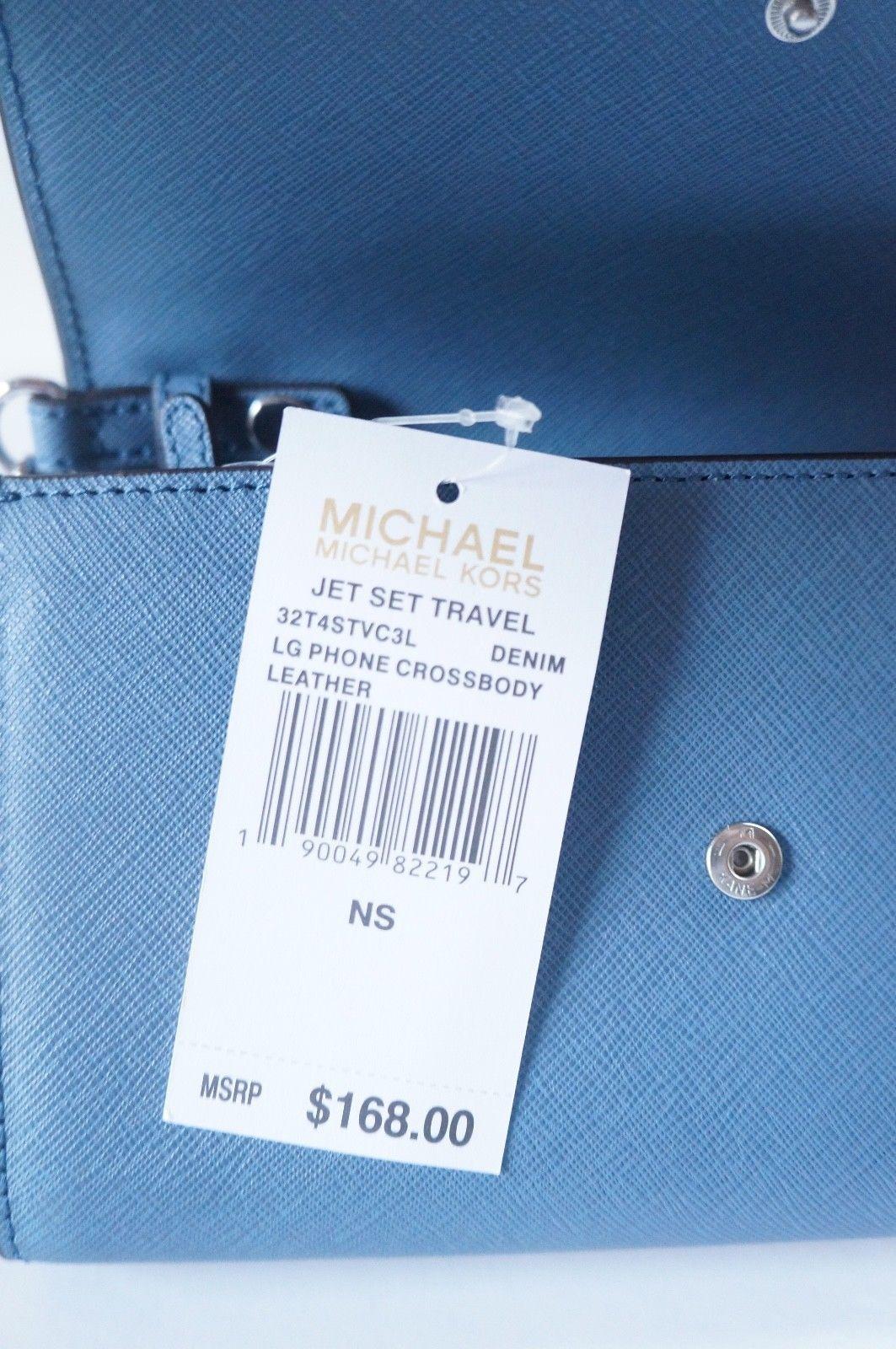 11238470161f Nwt Michael Kors Jet Set Travel Large Phone and 50 similar items