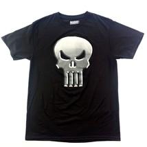 The Punisher Men's Large T-Shirt Black Marvel Comics Short Sleeve Graphi... - $9.49