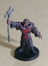 Dungeons & Dragons Miniatures Red Hand War Sorcerer #40 D&D Collectible Wizards! - $7.99